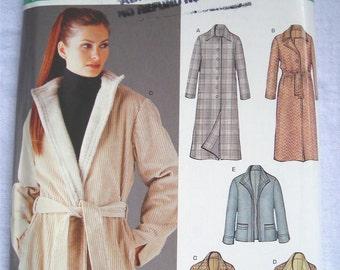 New Look 6221 Coat Pattern