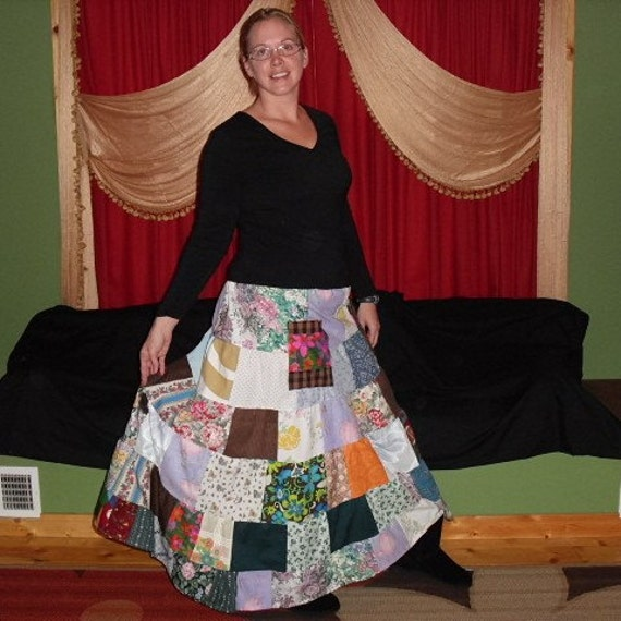 SALE Random Patchwork Skirt The Best of 2011