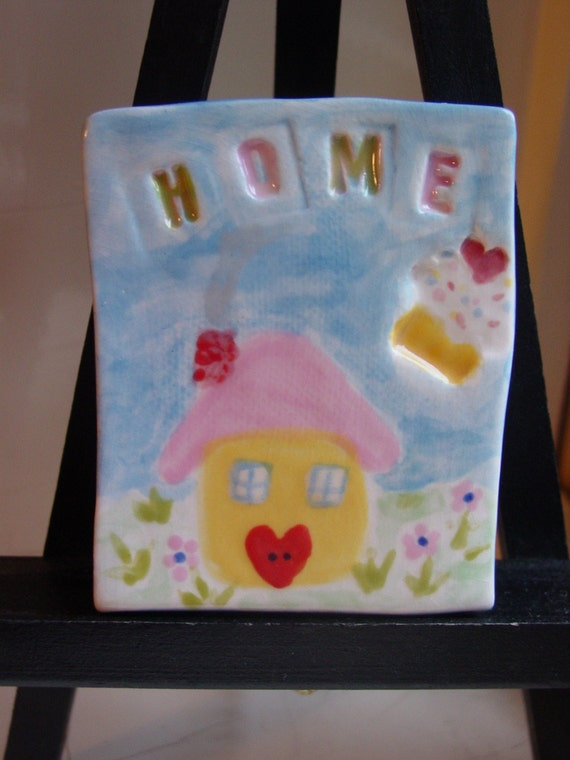 Home is Where the Cupcakes Are... Sweet Little Wall Tile
