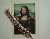 Slightly Imperfect...Aurora Borealis AB Goldtone Bracelet...Red Wine Burgundy Cabochons