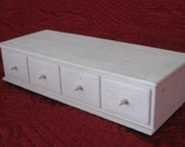 1960s Suzy Goose Barbie one white plastic drawer chest
