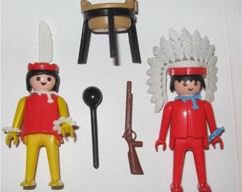Playmobil Indians 3179 Vintage 1979