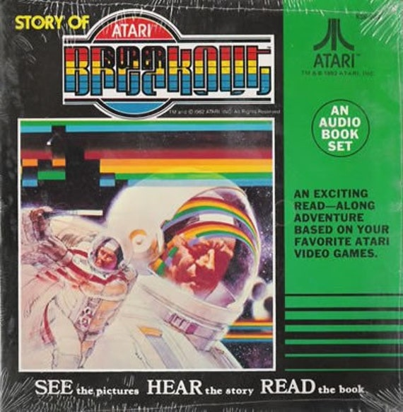 Atari - Story Of Breakout New 7inch Vinyl 45 with Booklet