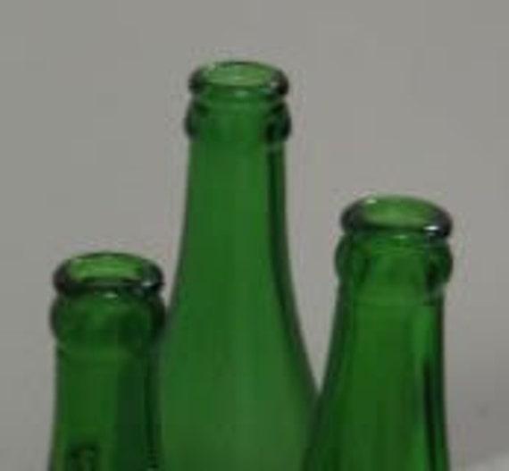Vintage Excavated Soda Pop Bottles 7 Up Bubble Girl