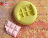 Candy Bar Mold Deco Sweets Kawaii Food Silicone Flexible Clay Resin Mould