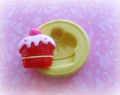 Cupcake Mold Deco Sweets Kawaii Food Silicone Flexible Clay Resin Mould