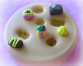 Dollhouse Candy Mold Sweets Kawaii Food Silicone Flexible Clay Resin Mould