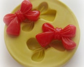 Bow Mold Deco Moulds Sweets Kawaii Food Silicone Flexible Clay Resin Mould