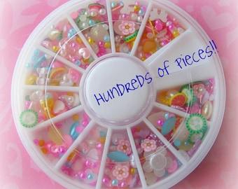 Pearl Deco Kawaii Nail Art Sweets Decoden