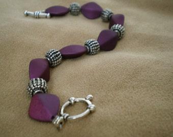 Plum Bracelet