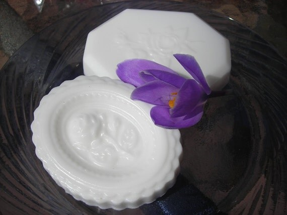 Vanilla Cameo Soap with Shea Butter - Set of 2
