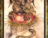 POSTCARDS Dragon