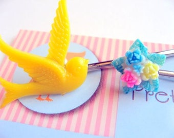 Sunshine Flight hairpin set