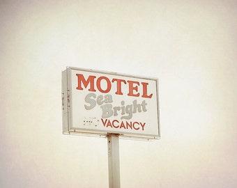 BUY 2 GET 1 FREE Retro Motel Sign, California Photography, fpoe, Los Angeles, Office, Home Decor, Interior Design - Retro Motel