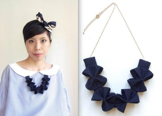 Origami Kuru Shou - Navy Blue