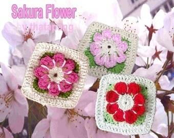 Sakura Flower in my Square