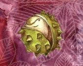 Newborn chestnut  - artcard