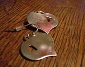 SALE - Silver Heart in Heart