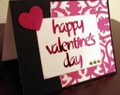 Happy Valentine's Day Card-FREE SHIPPING