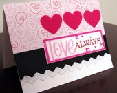 Love Always Valentine's Day Card-FREE SHIPPING