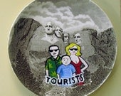 Mount Rushmore tourist plate