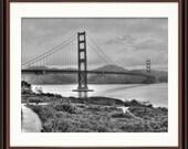 Golden Gate Bridge, CA - Fine Art Print