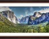 Yosemite Tunnel View - Fine Art Print