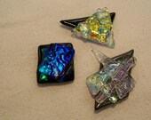 Dichroic Fused Glass Magnets