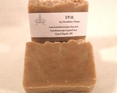 I.P.A. Beer Soap made with Homebrewed Beer.  Bath size bar