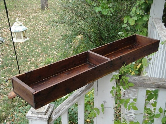 Vintage Wood Box or Crate George C. Brown Co. 1920s CEDAR for Storage or Planter