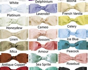 12 yds Silk Ribbon Bias Cut Dupioni Choose Your Color 3/4 inch Silk Ribbon for Jewelry