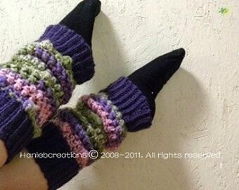 Leg Warmers Crochet Pattern PDF
