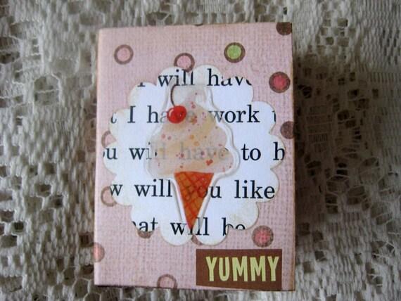 Ice Cream Tiny Book