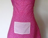 Pink Flirty style apron for Missy