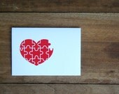 Love Valentine Card - You Complete My Heart