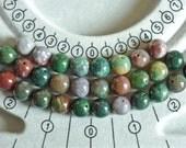 Fancy agate semi precious stone beads
