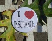 Flo the Insurance Girl Button      I heart  Insurance.