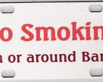 Barn sign-No Smoking in Barn