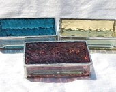 For Stacie Stained Glass Jewelry Box Gift Set of 3 -Custom Order Your Color(s)