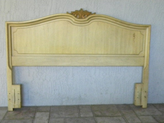 Fench Style Queen Head Board Cottage Chic