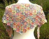 POSY Crochet Lace Shawl PDF Pattern