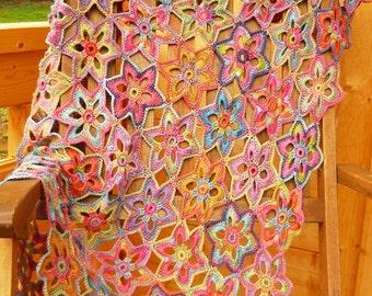 Lily Crochet Blanket - PDF Crochet Pattern