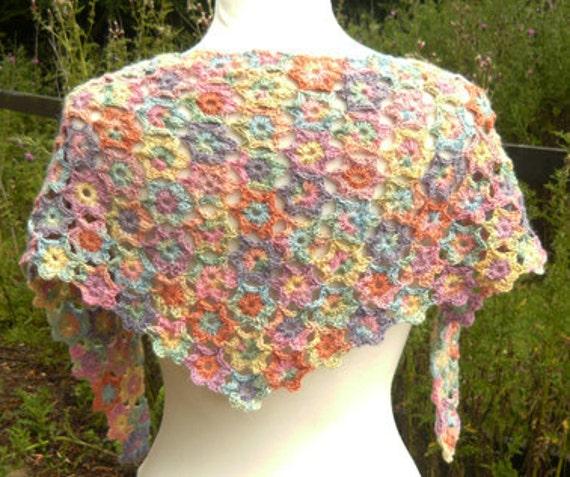 POSY Crochet Shawl PDF Pattern
