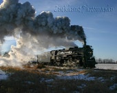 Steam Locomotive 5x7 Photograph