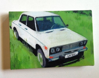 LADA / Tiny canvas print