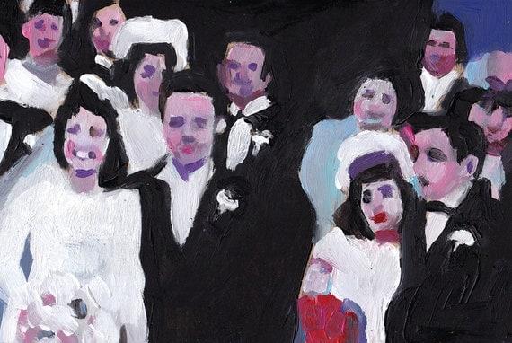 Wedding Day / Original painting