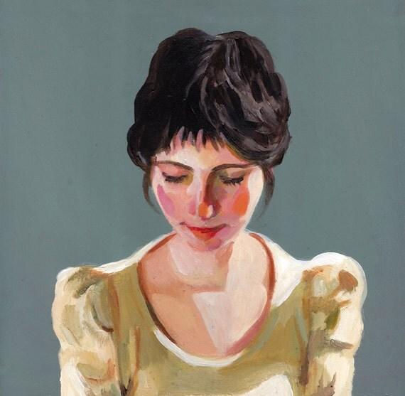 Original Painting / Naomi / lady paintings