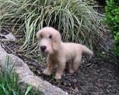 Needle Felted Dog Labrador Retriever Soft Sculpture