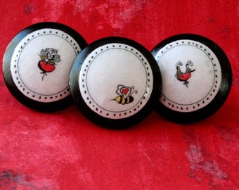 Bees in Love set of 3