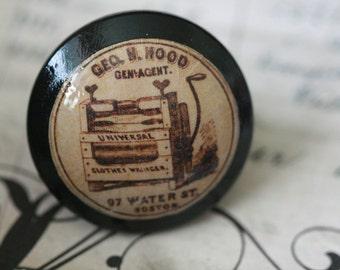 Vintage Knob Clothes Wringer Door Pulls